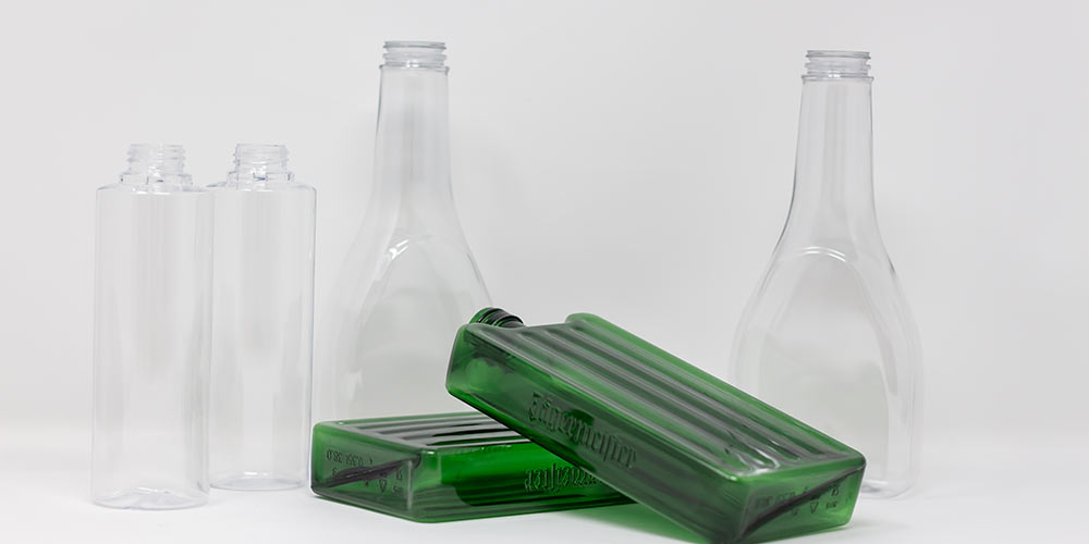 Food packaging made from plastic